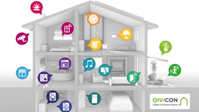 Qivicon Beispielhaus SmartHome