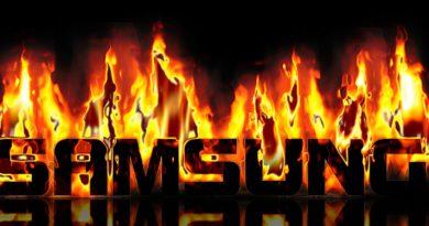 Samsung Schriftzug hot