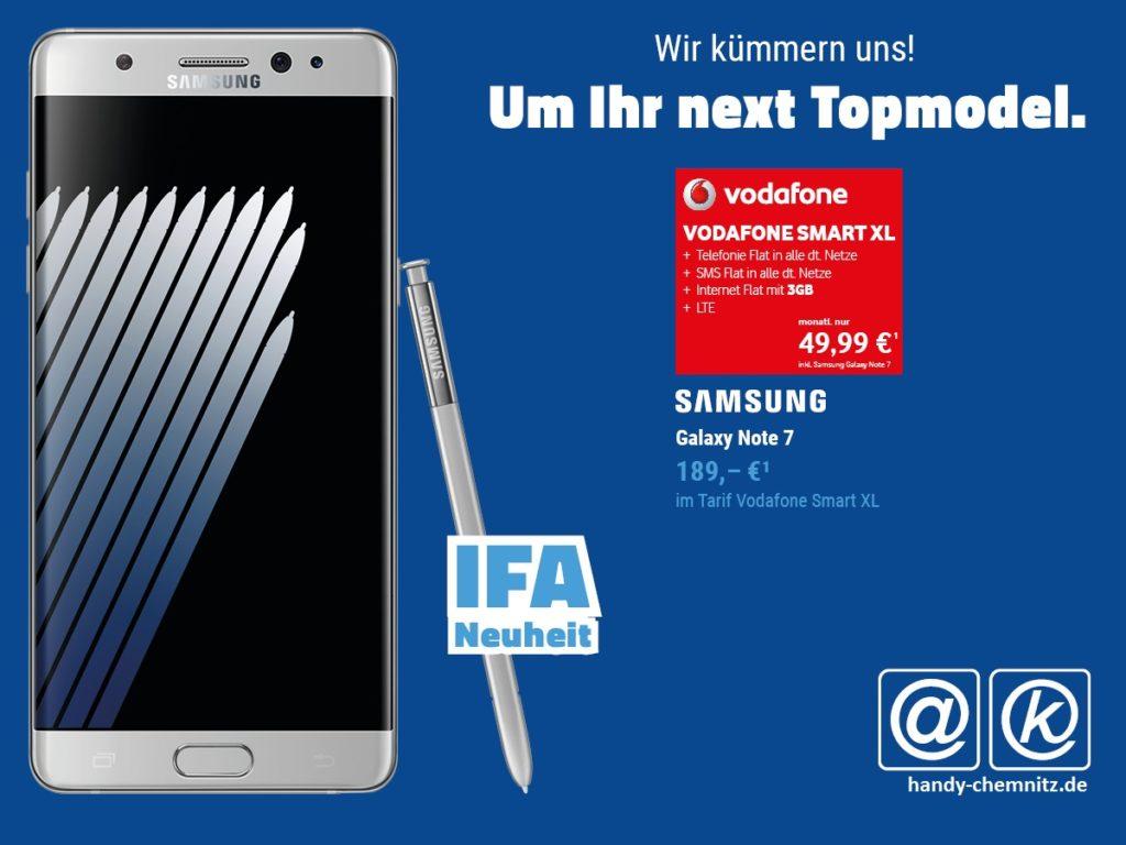 Samsung Galaxy Note 7 Angebot