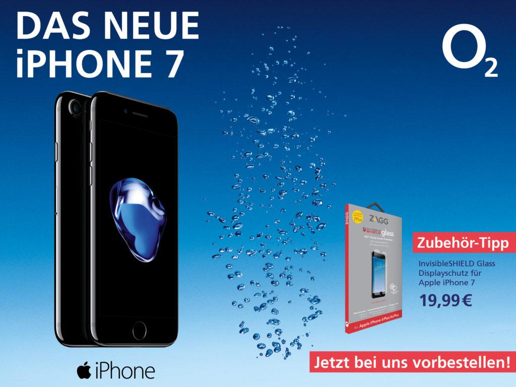 o2 Apple iPhone7 vorbestellen
