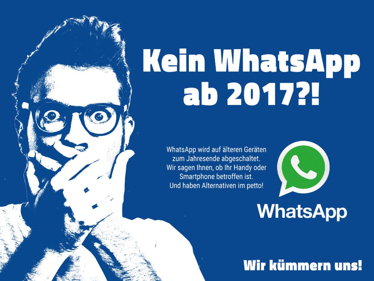 aetka Schluss mit Whatsapp ab 2017