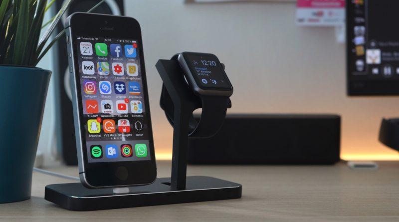 iphone SE mit Watch