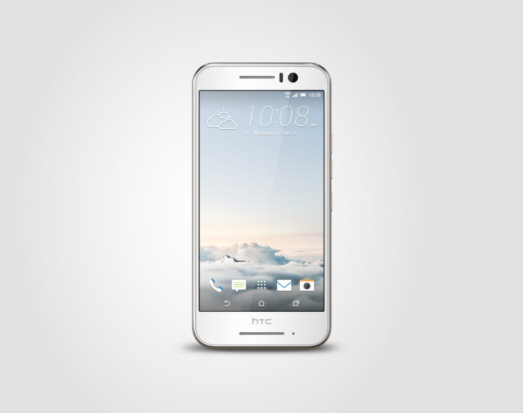 Handy HTC ONE S9 front Weiß