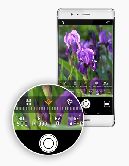 Huawei P9 Kamera Profimodus