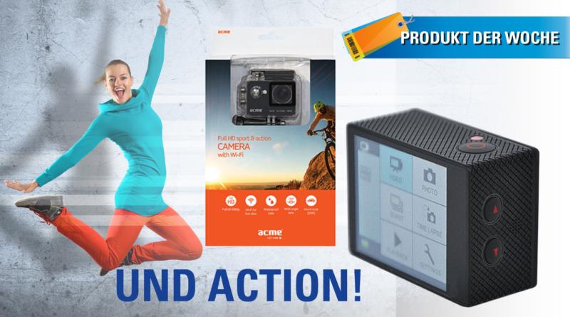 Produkt der Woche Action Kamera und App