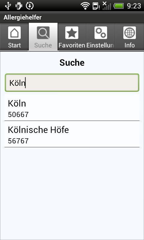 App der Woche Screen