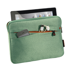 """PEDEA Tablet-Tasche """"Fashion"""" 25,7cm (10.1"""") grün Seite"""