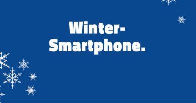 Dein Wintersmartphone
