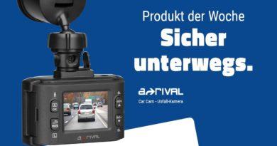 a-rival Car Cam - Unfall-Kamera