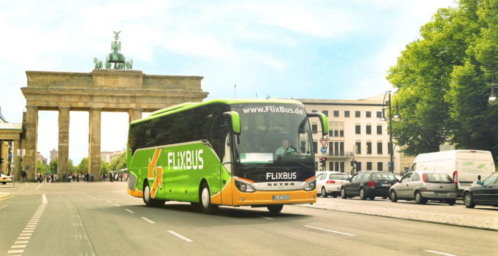 Flixbus Brandenburger Tor