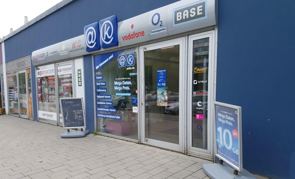 aetka Shop Chemnitz Brückenstraße Außen
