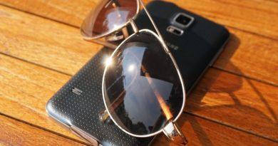 Sonnenbrille als Schutz fürs Smartphone?