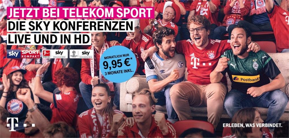Telekom Sport mit sky Kompakt