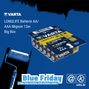VARTA LONGLIFE Batterie AAA / AA 12er Big Box